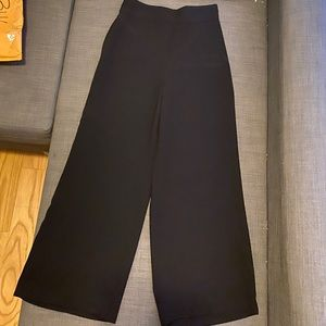 Zara black wide leg Pants
